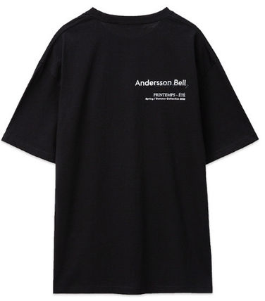 ANDERSSON BELL More T-Shirts Unisex Street Style Collaboration Plain Cotton Short Sleeves 15