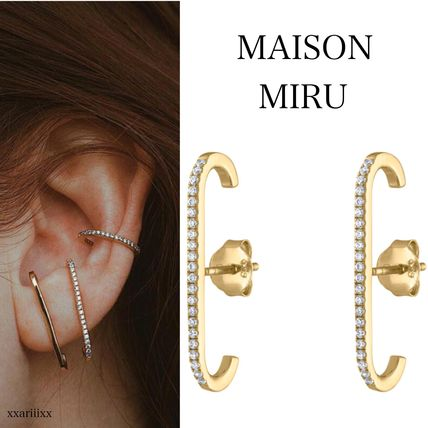 Party Style 14K Gold Elegant Style Earrings