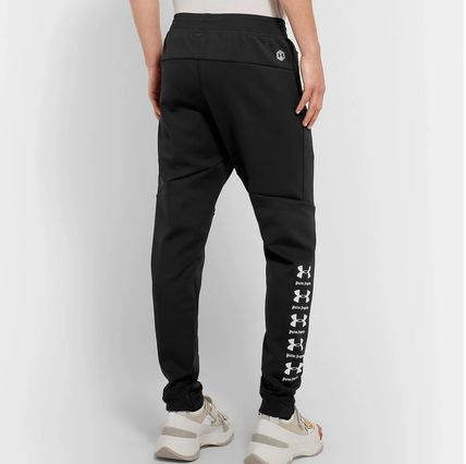 Street Style Collaboration Logo Pants