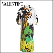 VALENTINO Other Animal Patterns Cotton Long Shirt Dresses