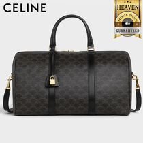 CELINE Triomphe Canvas Boston Bags