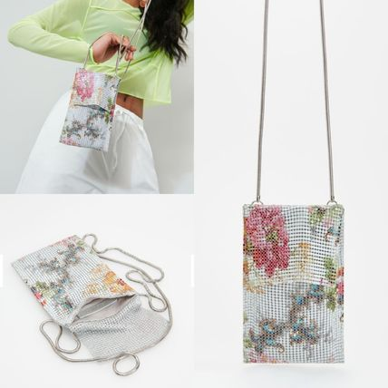 Flower Patterns Shoulder Bags