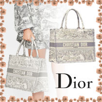 Christian Dior Casual Style 2WAY Other Animal Patterns Elegant Style