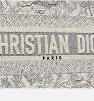 Christian Dior BOOK TOTE Casual Style 2WAY Other Animal Patterns Elegant Style