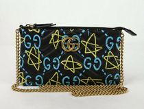 GUCCI Gucci Ghost Star Casual Style 2WAY Chain Leather Party Style