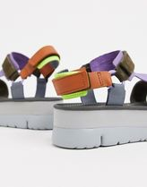 CAMPER Open Toe Casual Style Leather Sandals Sandal