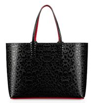 Christian Louboutin Casual Style Calfskin A4 Leather Party Style Office Style