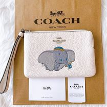 Coach Collaboration Other Animal Patterns Leather Logo
