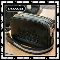 Coach Casual Style Bag in Bag 2WAY Plain Leather Elegant Style