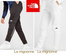 THE NORTH FACE Street Style Plain Logo Joggers & Sweatpants