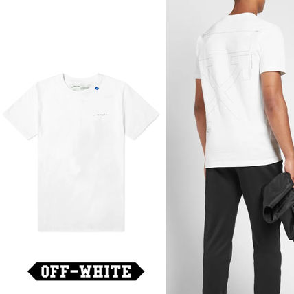 Off-White More T-Shirts Unisex Street Style T-Shirts