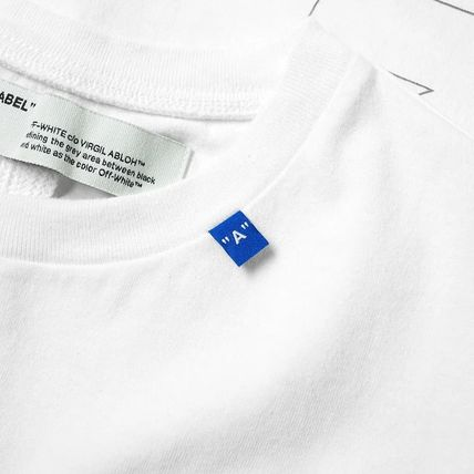 Off-White More T-Shirts Unisex Street Style T-Shirts 3