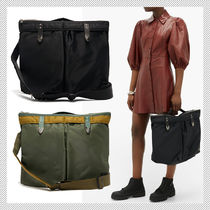 TOGA Casual Style Unisex Collaboration A4 2WAY 3WAY Crossbody