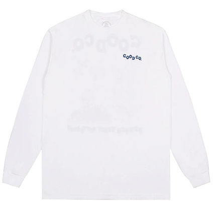 Pullovers Street Style Long Sleeves Cotton Logo Shirts