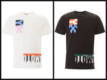Y-3 Street Style Cotton Short Sleeves Logo Designers T-Shirts