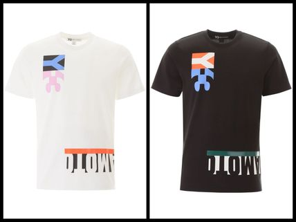 Y-3 More T-Shirts Street Style Cotton Short Sleeves Logo T-Shirts