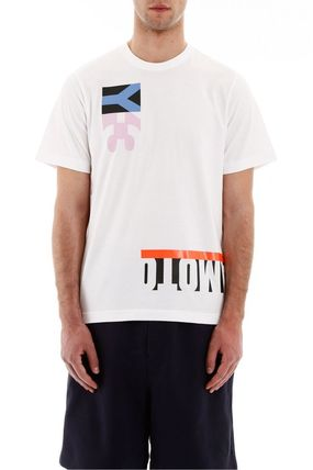 Y-3 More T-Shirts Street Style Cotton Short Sleeves Logo T-Shirts 4