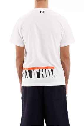 Y-3 More T-Shirts Street Style Cotton Short Sleeves Logo T-Shirts 5