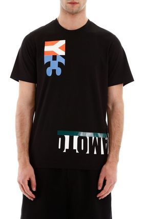 Y-3 More T-Shirts Street Style Cotton Short Sleeves Logo T-Shirts 7
