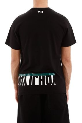 Y-3 More T-Shirts Street Style Cotton Short Sleeves Logo T-Shirts 8
