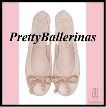 Pretty Ballerinas Casual Style Office Style Elegant Style Pumps & Mules