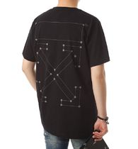 Off-White More T-Shirts Street Style Cotton T-Shirts 19