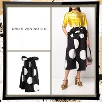 Dries Van Noten Dots Casual Style Cotton Medium Party Style Office Style