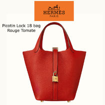 HERMES Picotin Casual Style Party Style Elegant Style Handbags