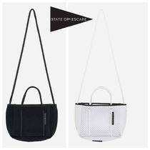 State of Escape Casual Style Blended Fabrics 2WAY Handbags