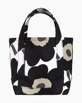 marimekko Flower Patterns Casual Style Canvas Office Style