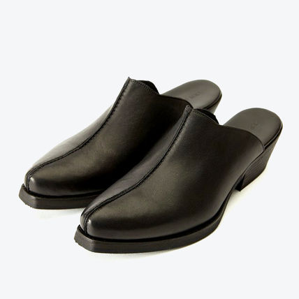 Plain Leather Loafers & Slip-ons