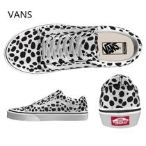 VANS OLD SKOOL Unisex Street Style Other Animal Patterns Low-Top Sneakers