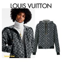 Louis Vuitton Monogram Casual Style Wool Blended Fabrics Jackets