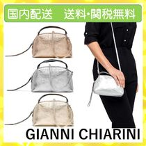 GIANNI CHIARINI Casual Style 2WAY Plain Party Style Office Style