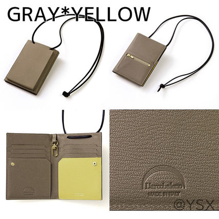 Unisex Plain Leather Folding Wallet Small Wallet