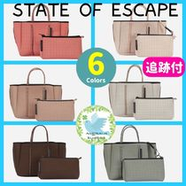 State of Escape Unisex Plain Office Style Co-ord Totes