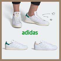 adidas STAN SMITH Casual Style Unisex Street Style Logo Low-Top Sneakers