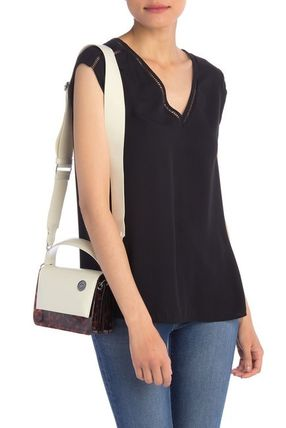 Casual Style 2WAY Plain Other Animal Patterns Leather