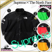 Supreme Collaboration Fleece Jackets Jackets