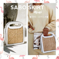 SABO SKIRT Casual Style Handbags