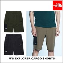 THE NORTH FACE Khaki Logo Cargo Shorts