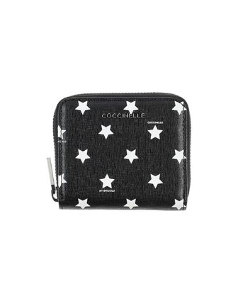 Star Leather Long Wallet  Small Wallet Logo Coin Cases