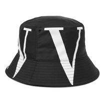 VALENTINO Street Style Bucket Hats Wide-brimmed Hats