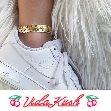 Casual Style Street Style Brass Anklets
