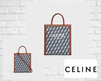 CELINE Cabas Casual Style A4 Elegant Style Totes