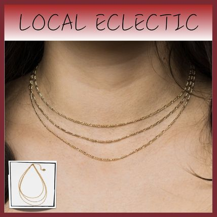 Costume Jewelry Casual Style Street Style Chain Brass