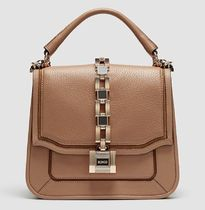MIMCO Casual Style Elegant Style Formal Style  Logo Shoulder Bags