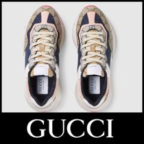 GUCCI GG Supreme Low-Top Sneakers
