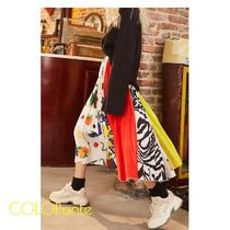ELF SACK Casual Style Street Style Skirts