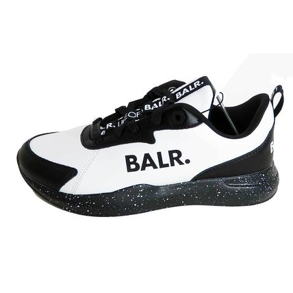 Rubber Sole Unisex Bi-color Leather Low-Top Sneakers
